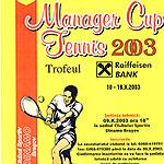 Pliantul turneului de tenis MCT 2003
